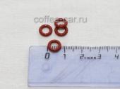 Уплотнительное силиконовое кольцо на штуцер